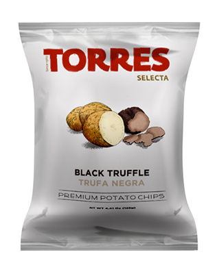Selecta Potato Chips Black Truffle