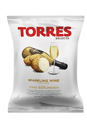 Selecta Potato Chips Sparkling Wine Flavoured