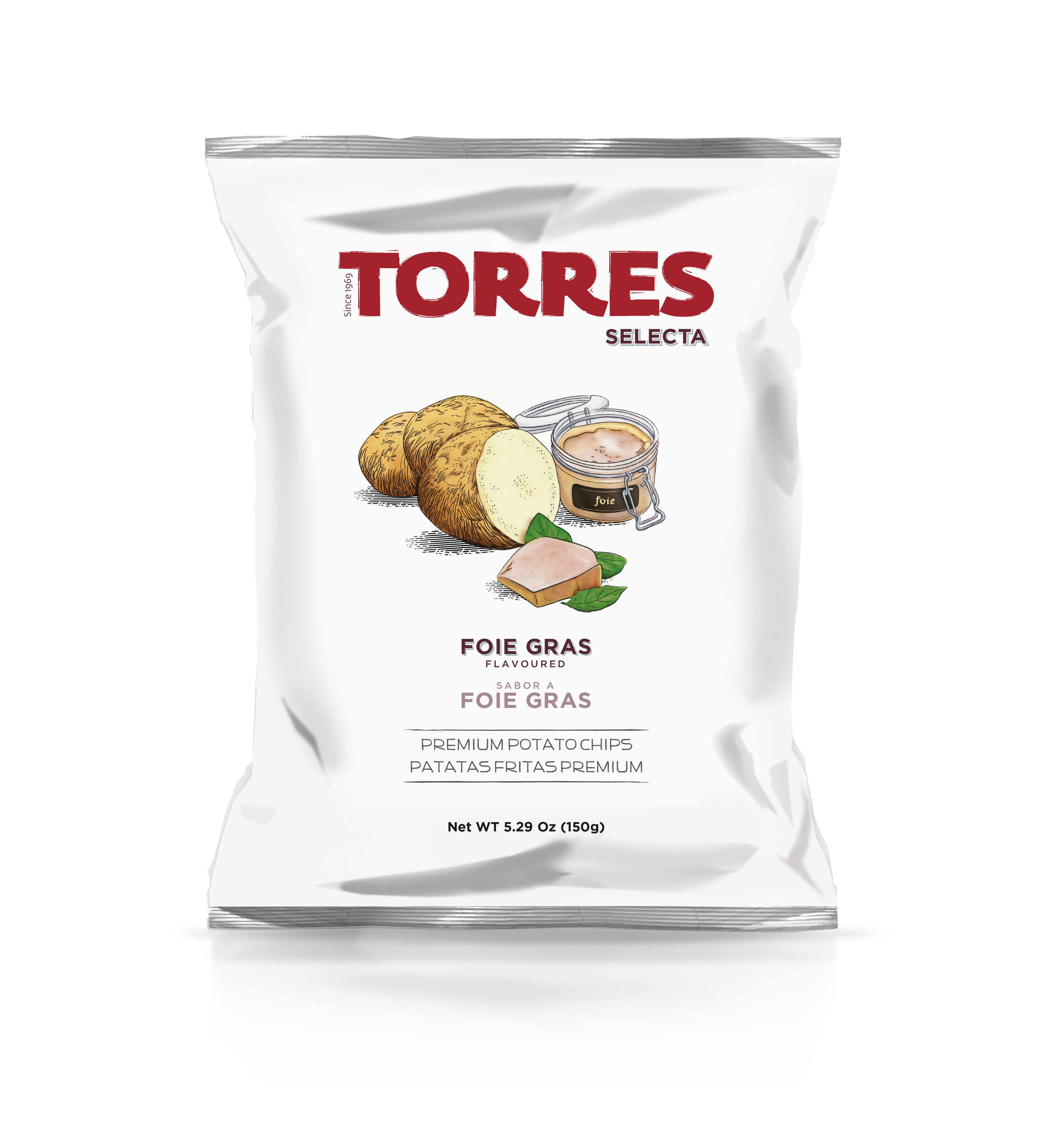 Foie Gras flavoured Potato Chips