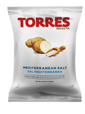 Selecta Potato Chips Mediterranean Salt